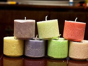 Свечи из пальмового воска. Особенности материала, изготовление.. Ярмарка Мастеров - ручная работа, handmade.