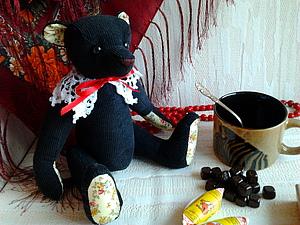 Мишка Морис, или просто Мо. Аукцион. (Завершен) | Ярмарка Мастеров - ручная работа, handmade
