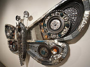 Необычные бабочки Michelle Stitzlein | Ярмарка Мастеров - ручная работа, handmade
