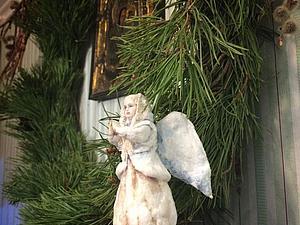Создаём ватную игрушку «Рождественский ангел». Часть 2 | Ярмарка Мастеров - ручная работа, handmade