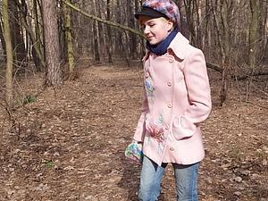 Весеннее нежно-розовое пальто станет прекрасным подарком к празднику! Себе, дочери, подруге...   Ярмарка Мастеров - ручная работа, handmade