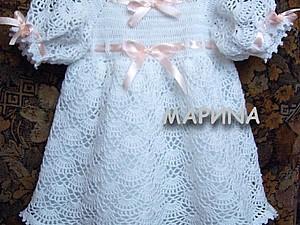 платье для маленькой леди, handmade