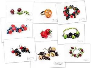 Ягодная коллекция украшений BrightWave. Видео. | Ярмарка Мастеров - ручная работа, handmade