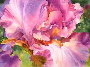 Акварельное лето Susan Crouch. | Ярмарка Мастеров - ручная работа, handmade