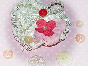 Сердечко-Магнит | Ярмарка Мастеров - ручная работа, handmade