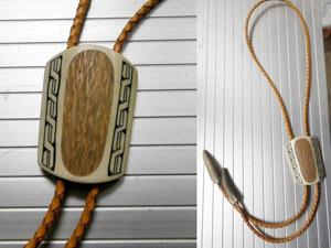 Изготовление галстука-боло из рога лося. Ярмарка Мастеров - ручная работа, handmade.
