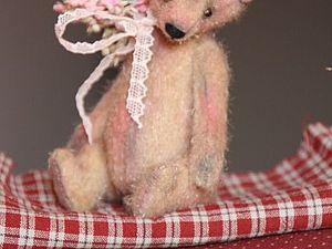 Мастер-класс по изготовлению миниатюрного мишки-тедди 11см | Ярмарка Мастеров - ручная работа, handmade