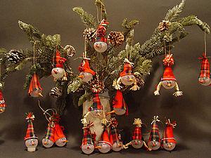Елочные игрушки из лампочек. | Ярмарка Мастеров - ручная работа, handmade