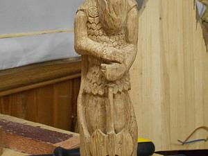 Вырезаем славянский чур Перуна из дуба. Ярмарка Мастеров - ручная работа, handmade.