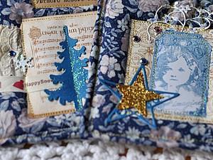 Мягкие новогодние открытки! | Ярмарка Мастеров - ручная работа, handmade