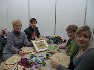МК по вышивке лентами | Ярмарка Мастеров - ручная работа, handmade