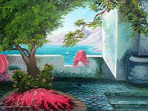 Аукцион на боьшой морской пейзаж маслом! ) | Ярмарка Мастеров - ручная работа, handmade