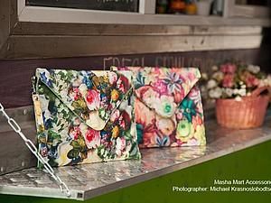 Новые цветочные клатчи Masha Mart уже в продаже! | Ярмарка Мастеров - ручная работа, handmade