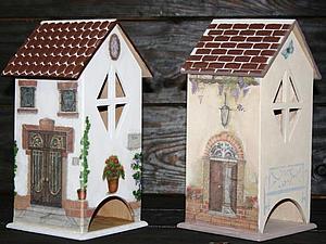 Чайные домики - множество техник и вариантов декора в одном занятии! | Ярмарка Мастеров - ручная работа, handmade