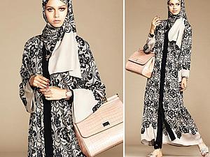 «Мечтательность среди пустынных дюн...»: коллекция одежды для мусульманок от Dolce & Gabbanа | Ярмарка Мастеров - ручная работа, handmade