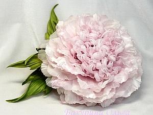 Цветы из шёлка.Мастер-класс