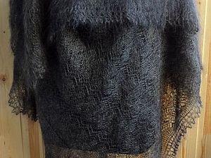 Пуховый платок как мода и лечение в одном аксессуаре | Ярмарка Мастеров - ручная работа, handmade