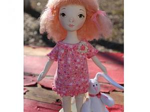 Аукцион!!! текстильная куколка!!!   Ярмарка Мастеров - ручная работа, handmade