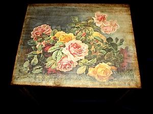 Старенький журнальный столик | Ярмарка Мастеров - ручная работа, handmade