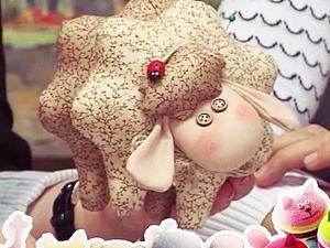 Видео мастер-класс по овечке-символу 2015 года | Ярмарка Мастеров - ручная работа, handmade