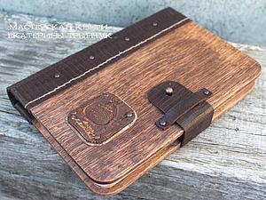 Блокнот деревянный | Ярмарка Мастеров - ручная работа, handmade