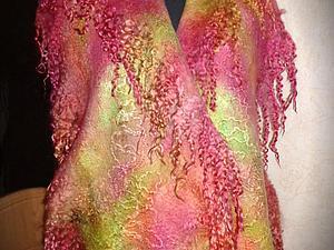 Регина Журавлева в Самаре - крашение 2в1 - палантины! 7 марта 2015. | Ярмарка Мастеров - ручная работа, handmade