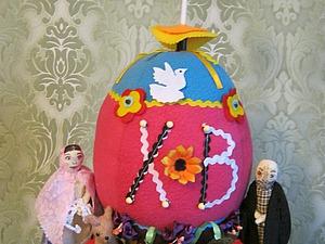Создаем интерьерную композицию «Яйцо-символ». Ярмарка Мастеров - ручная работа, handmade.