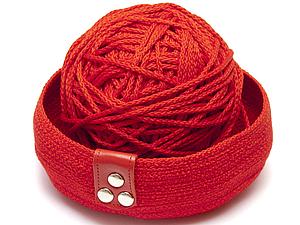 Мастер-класс Корзинка из шнура | Ярмарка Мастеров - ручная работа, handmade