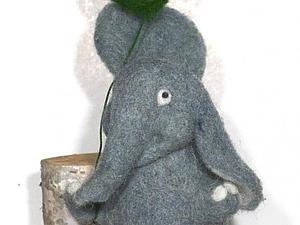 Слонятка | Ярмарка Мастеров - ручная работа, handmade