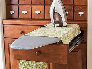 Варианты творческого применения гладильной доски в интерьере дома. Ярмарка Мастеров - ручная работа, handmade.