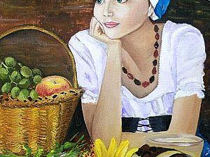 Аукцион на картину в помощь Ангелине Боровской | Ярмарка Мастеров - ручная работа, handmade