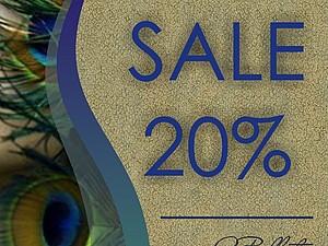 Летняя распродажа - 20%!!! | Ярмарка Мастеров - ручная работа, handmade