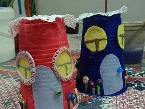 """""""Домик для гнома"""": от трех до шести &#8212&#x3B; делаем с детьми. Ярмарка Мастеров - ручная работа, handmade."""