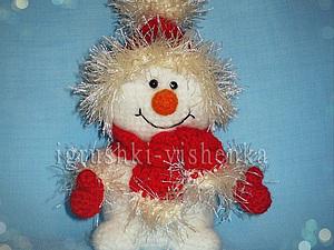 Новогодний снеговичок. | Ярмарка Мастеров - ручная работа, handmade