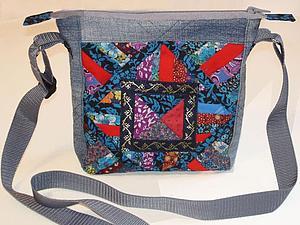 Шьем сумку «Остатки сладки» из лоскутков и старых джинсов. Ярмарка Мастеров - ручная работа, handmade.