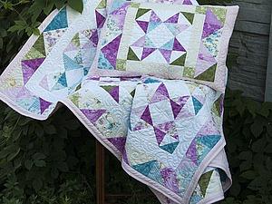 История рождения одного лоскутного одеяла | Ярмарка Мастеров - ручная работа, handmade