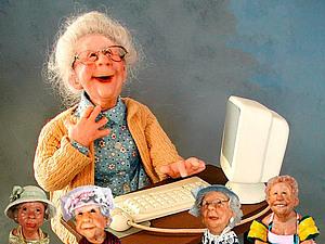 НЕбисерная лавка чудес: Позитивные старички Annie Wahl | Ярмарка Мастеров - ручная работа, handmade