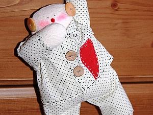 Шьем пижамного снеговика-тильду.. Ярмарка Мастеров - ручная работа, handmade.