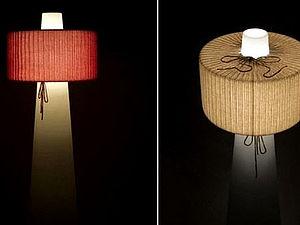Светильник в свитере | Ярмарка Мастеров - ручная работа, handmade