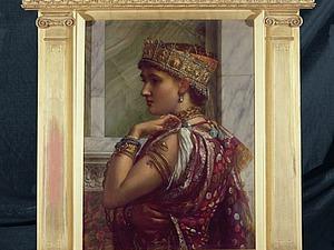 Образ царицы Зенобии в живописи и скульптуре. Ярмарка Мастеров - ручная работа, handmade.