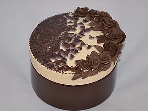 Шкатулка-тортик, handmade