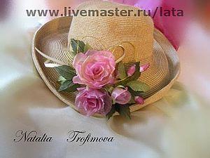 Чайные розы без инструментов.   Ярмарка Мастеров - ручная работа, handmade