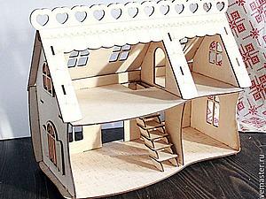 Завершена! Акция на кукольный домик! до 1 августа! | Ярмарка Мастеров - ручная работа, handmade