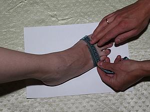 Как снять мерки стопы   Ярмарка Мастеров - ручная работа, handmade