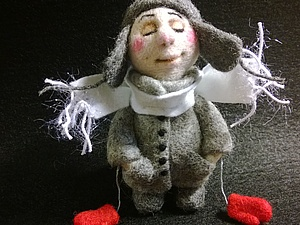 Зимний Ангел. Ярмарка Мастеров - ручная работа, handmade.