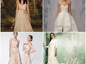 Модные тенденции в  свадебных платьях 2016 года: розовый, пудровый и бронза. Ярмарка Мастеров - ручная работа, handmade.