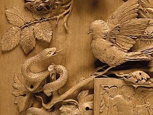 Зяблик и змея Обера Парена | Ярмарка Мастеров - ручная работа, handmade