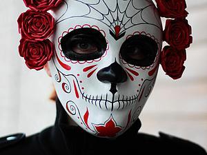 Делаем маску при помощи молда. Ярмарка Мастеров - ручная работа, handmade.