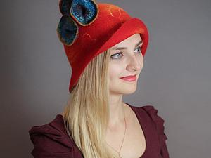 Головные уборы из войлока: шапки и шляпки | Ярмарка Мастеров - ручная работа, handmade