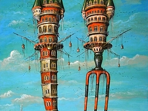 Сказочный мир Сергея Тюканова   Ярмарка Мастеров - ручная работа, handmade